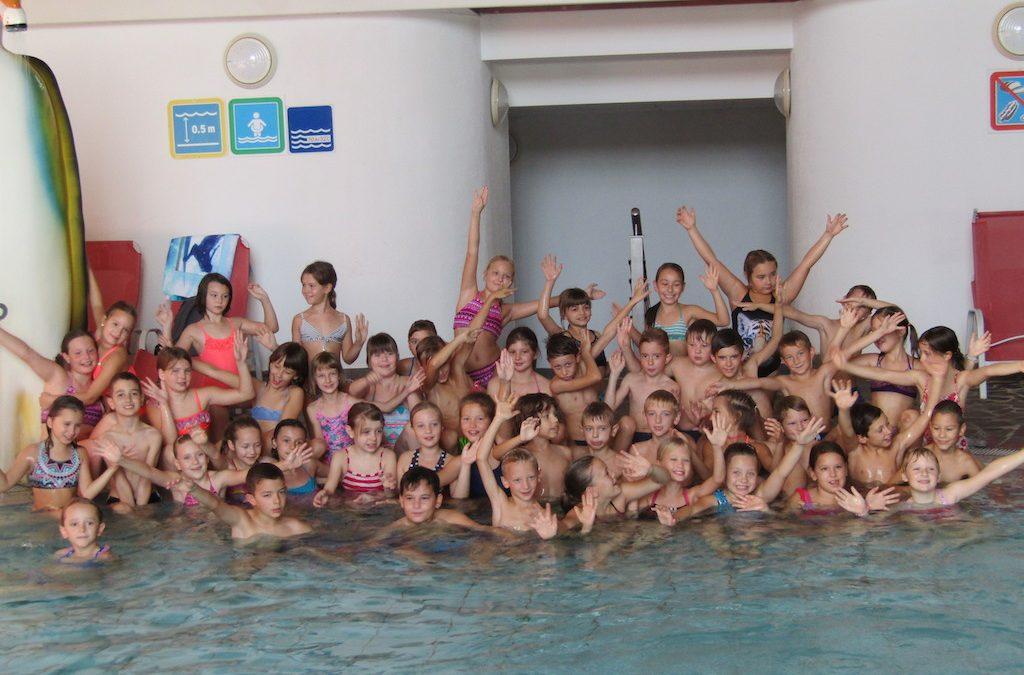 Tretješolci plavali v Zrečah